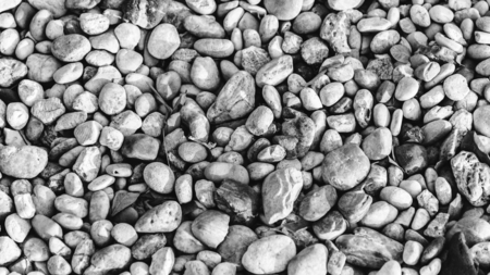 Stones and pebbles negative color Reklamní fotografie