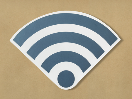 Icons of a strong signal of wifi 版權商用圖片