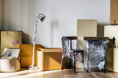 Packed furniture