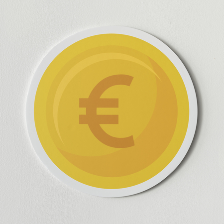 European Union currency exchange icon