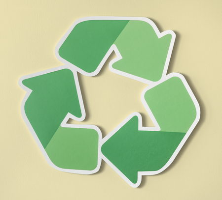 Reduce reuse recycle symbol icon Banco de Imagens