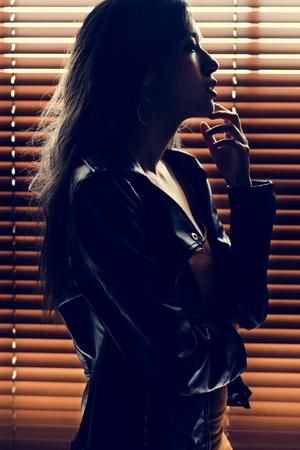 Woman lifestyle fashion shoot 版權商用圖片