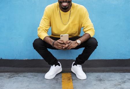 A man in the city fashion shoot Reklamní fotografie - 109572015