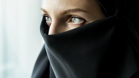 View of a arabian woman