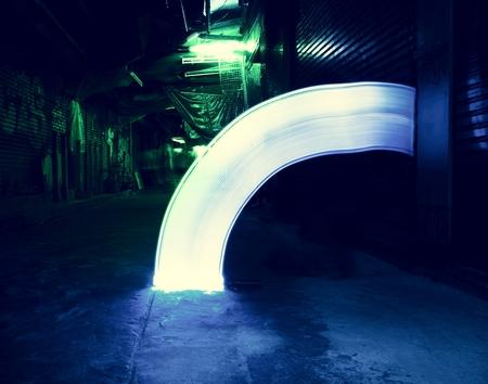 Blue light long exposure technique