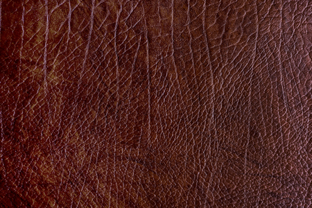 Brown rough leather textured background