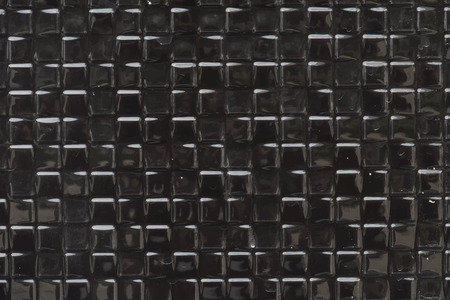 Black small squares textured background Stock Photo