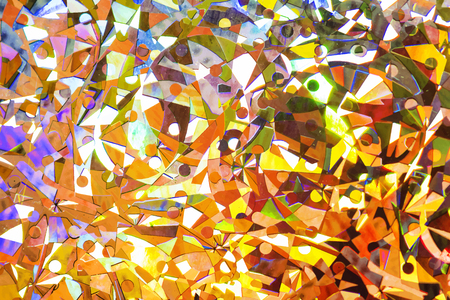 Shiny colorful abstract textured background Stock Photo