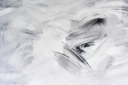 Peinture noire sur toile