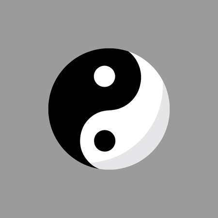 Illustration of Ying Yang