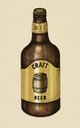 Craft beer illustration