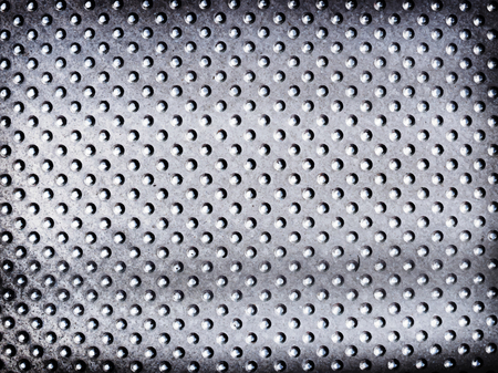 Metalic silver spotted textured background Stock fotó - 109711534