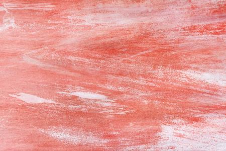 Red paint on a canvas Foto de archivo - 109711932