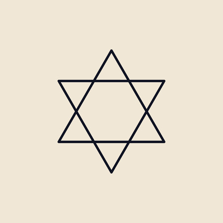 Illustration of the star of david