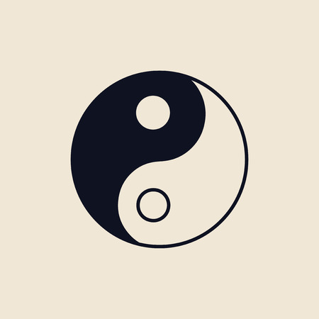 Illustration of the Yin and Yang