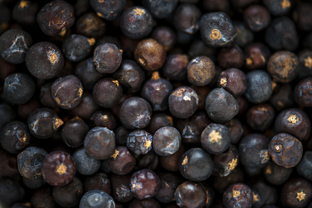 Closeup of black pepper texture