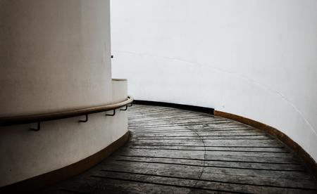 Spiral walkway in a modern building Archivio Fotografico - 109637676
