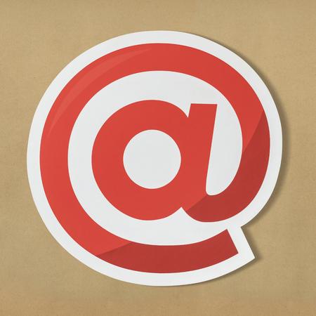 At online internet symbol icon Stock Photo