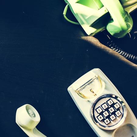 Antique old dial retro home phone