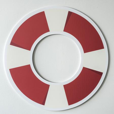 Ring buoy life saver icon Stock Photo