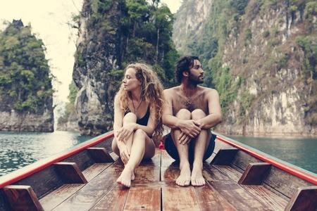 Traveling couple having an argument Banco de Imagens - 109643167