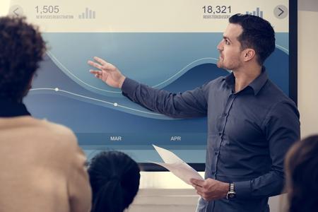 Business people in a meeting Stock fotó