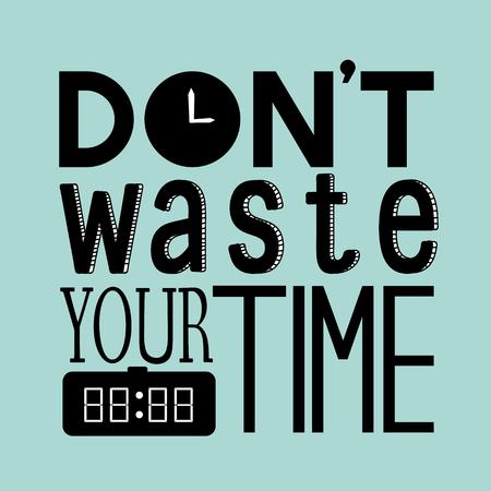 Verschwenden Sie nicht Ihr Zeitangebot