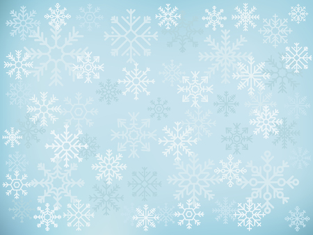 Illustration of cute snowflake icons 写真素材 - 109644207