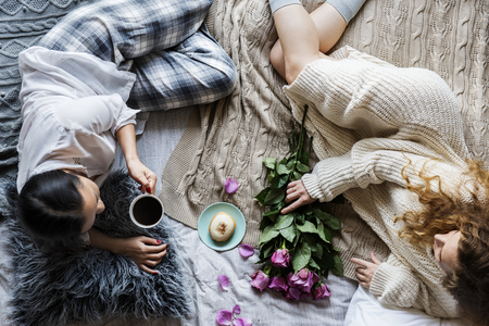 Lesbian couple spending time together Stock Photo - 109644368