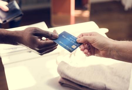 Credit card payment Фото со стока