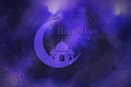 Symbol of the Islamic holiday Ramadan Stock fotó