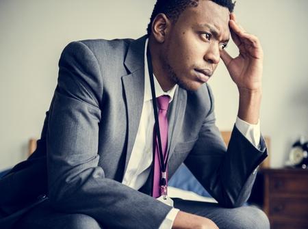 A stressful man