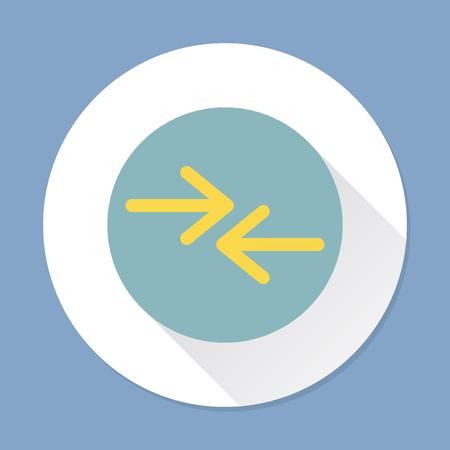 Illustration of an arrow sign Banco de Imagens - 109888576