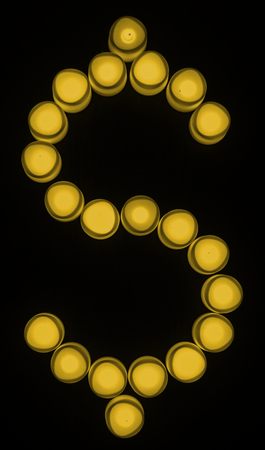 Yellow dollar sign currency exchange Reklamní fotografie