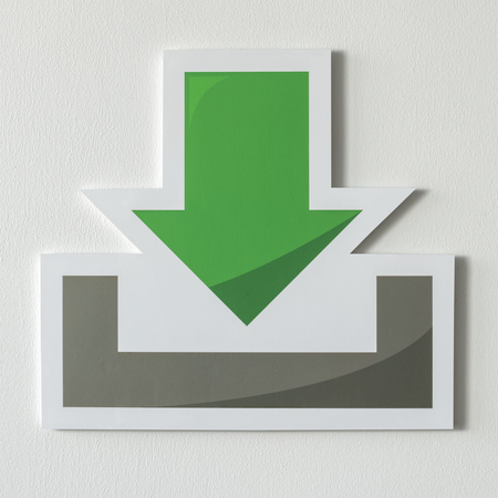 Download computer technology icon symbol Stock Photo