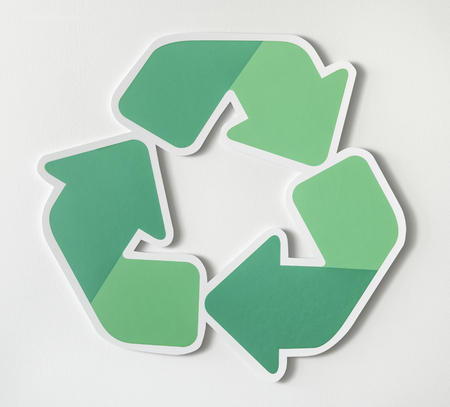 Reduce reuse recycle symbol icon Stock fotó