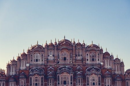 Hawa Mahal palace Jaipur, India 新聞圖片
