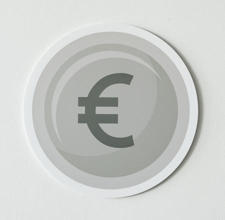 European Union currency exchange icon