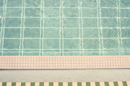 Swimming pool in summer time 写真素材