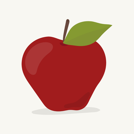 Hand drawn apple fruit illustration Stock fotó - 110045080