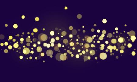 Fondo de pantalla de luces borrosas bokeh abstracto
