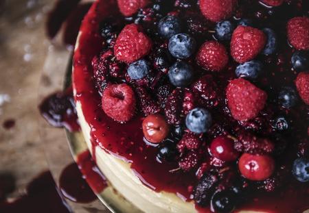 Idée de recette de photographie culinaire au fromage frais