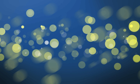 Abstract bokeh blurred lights wallpaper