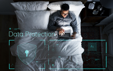 Data protection with a secure password