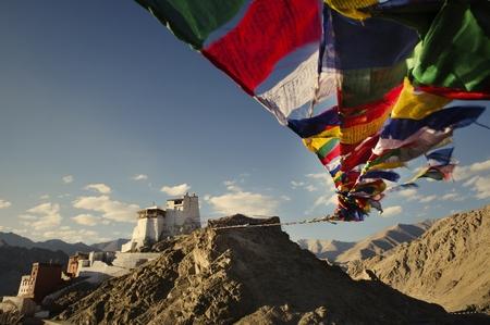Leh Palace in Ladakh India