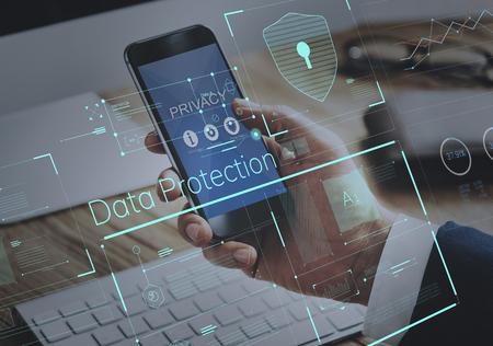 Protección de datos con contraseña segura