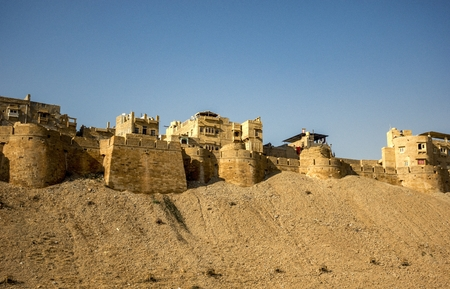 Jaisalmer Fort, Rajasthan, India Stock Photo