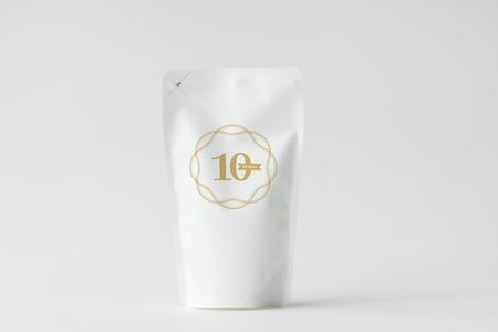 White paper bag branding mockup