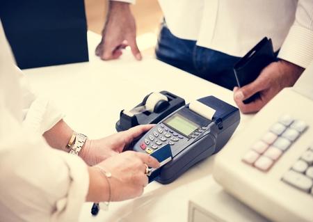 Credit card payment Stok Fotoğraf