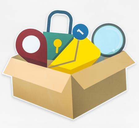 Box of Stockfoto - 110597378